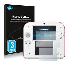 6x Savvies protector de pantalla para Nintendo 2DS transparente