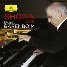 DANIEL BARENBOIM THE CHOPIN I LOVE DOPPIO CD NUOVO SIGILLATO !!