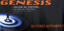 """GENESIS POSTER """"CALLING ALL STATIONS"""" (G3)"""