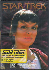 STAR TREK THE NEXT GENERATION TNG 18  COLLECTOR'S EDITION - 3 EPISODES REG 4 DVD