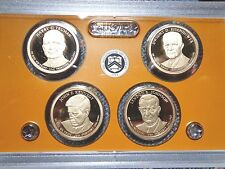 2015 S Presidential Proof Dollar Set  No Box or Coa
