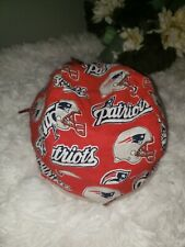 New England Patriots Red NFL Football Scrub Hat Cap Medical Surgical Chef Chemo