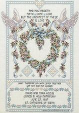 Janlynn Cross Stitch Kit-mariage Colombes