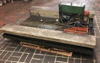 "Heavy Duty Hydraulic Ground Level Roll On Lift Table 71""x34"" Scissor Lift Ta"