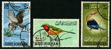 Jordan 1964 Birds Ornate Hawk Eagle Grey-Headed Kingfisher Bush Shrike Used £142