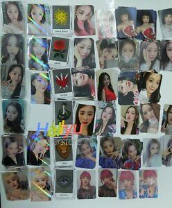 "(G) I-DLE ""I Burn"" 4th Mini - Official (MMT, etc) Photocard (updated 1/20)"