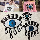 Eye Eyeball Tattoo Embroidered Cloth Iron On Patch Sew Motif Applique Craft New
