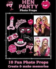 Hen do Party Props Selfie Photo Booth Hen Night Kit Games Accessories