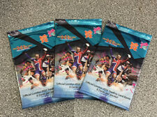Adrenalyn XL London 2012 Olympics Official Trading Card Packs x3 Packs -New