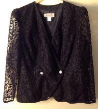 Amanda Fey 22W Sequin Blazer