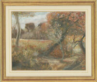 Veronica Aldous - Framed 1992 Watercolour, Autumn's Gold