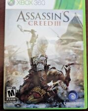 ASSASSINS CREED III 3 Xbox 360 2012 Video Game Mature