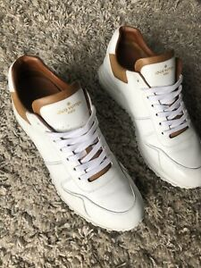 Louis Vuitton men's Run Away sneakers - White - Size 8.5