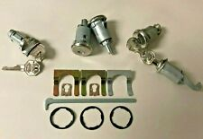 NEW 1964 Bel Air, Biscayne, Impala Complete OE style Lock Set- Original GM Keys
