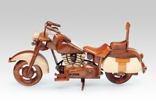 HARLEY DAVIDSON HERITAGE SOFTAIL 3-COLOR MOTORCYCLES HANDMADE WOODEN GIFTS HOBBY