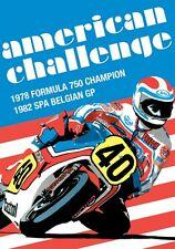 American Challenge - Steve Baker Freddie Spencer (New DVD) Belgian GP 1982 etc