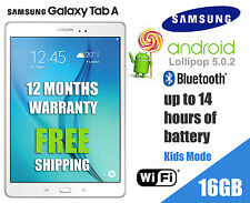 "Samsung Galaxy Tab A, 9.7"" SM-T550NZWAXSA, WiFi 16GB, 1.5 GB Ram SM-T550 White"