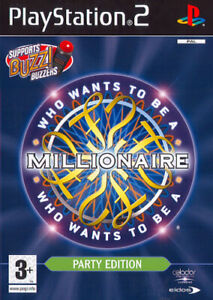 Who Wants to be a Millionaire? Party Edition (PS2) PEGI 3+ Quiz Amazing Value
