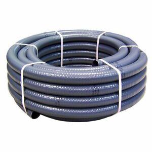 PVC Klebeschlauch Poolflex Schwimmbadschlauch 50mm Außen / 25 m Rolle NEU