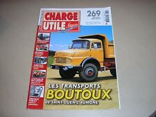 "REVUE ""CHARGE UTILE"",n°269,les transports Boutoux,etc"