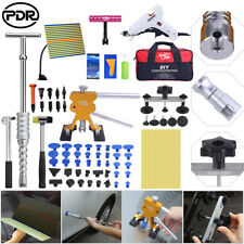 PDR Tools Dent Puller Lifter Paintless Hail Repair Slide Hammer Glue Removal Kit