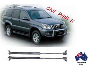 Gas struts suit Toyota Land Cruiser Prado 120 Series Bonnet 2002 - 2009 New PAIR