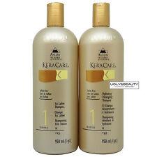 Keracare 1st Lather Shampoo + Hydrating Detangling Shampoo 950 ml / 1 qt. Duo