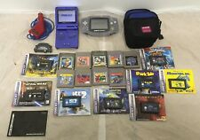 Nintendo Gameboy Advanced & SP With 17 Games Case And Instructions Retro Bundle