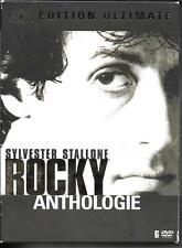 COFFRET DIGIPACK 6 DVD ZONE 2--ROCKY ANTHOLOGIE - LES 6 PREMIERS FILMS--STALLONE