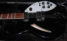 MINT! Rickenbacker 360 Series JetGlo Electric Guitar Original Hardshell Case