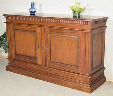 Large 6Ft Solid Mahogany 2 Door Buffet Sideboard Server