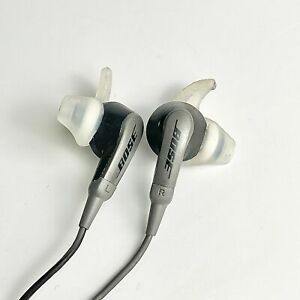Bose SoundSport Wired On-Cable Microphone In Ear Headset 3.5 mm Headphones Jack
