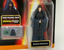 1998 Star Wars Episode 1 Commtech Action Figure DARTH SIDIOUS NEW