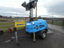 VT1 towable lighting tower site support generator 4 light head mk2