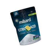 Milliard Citric Acid 1 Pound - 100% Pure Food Grade Non-Gmo Project Verified .