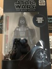 Star Wars Black Series 40th Carbonized Darth Vader MINT NIB