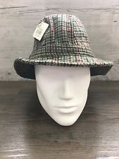 Men's Elgin Harris Tweed Trilby Hat Size Large