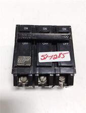 GENERAL ELECTRIC 3 POLE 100AMP CIRCUIT BREAKER