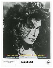 Paula Abdul - 1980s Virgin Records 8x10 Publicity Photo!