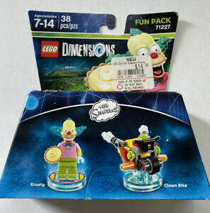 NEW LEGO Dimensions 71227 The Simpsons Krusty The Clown Bike Fun Pack