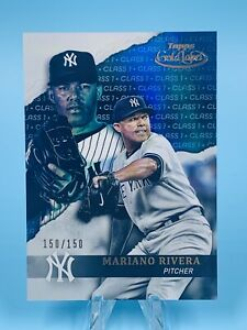 MARIANO RIVERA 2020 Topps Gold Label Class 1 Blue /150 NY Yankees HOF LEGEND🔥📈