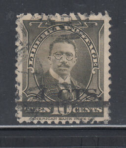 Liberia # 292A POSTALLY USED 1944-46 Surcharge ABNCo. President Burgess