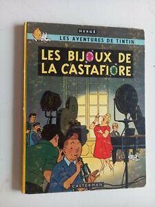 """Ancien album """"les bijoux de la Castafiore"""" EO B34 1963 en bon état"""