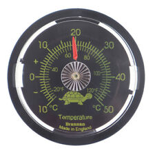 REPTILE TANK THERMOMETER VIVARIUM TERRARIUM TEMPERATURE METER 65MM - 30/440/3