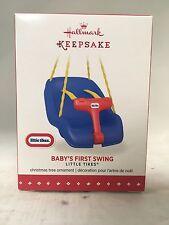 Hallmark Keepsake XMAS TREE Ornament 2015 Coll. Little Tikes baby's First Swing