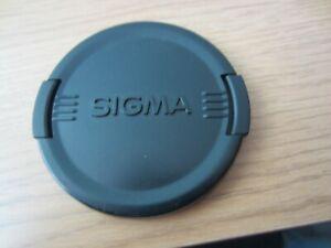 Sigma lens cap 72mm