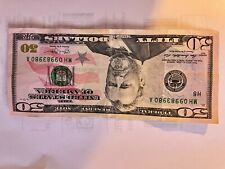 Rare ERROR NOTE $50 Federal Reserve Note 2013
