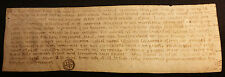 1252 - OLD PARCHMENT HANDSCHRIFT PERGAMENT in LATIN PERIOD of REIGN LOUIS IX