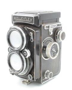 VINTAGE GERMAN ROLLEIFLEX 2.8C TWIN LENS REFLEX XENOTAR LENS W/ CASE #B4336-1