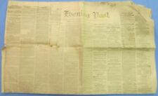 Group of 3 original antique Civil War era American Newspapers! #3